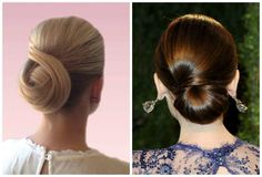 Classic Updos for Prom: Two Shots of a Formal Twisted Updo
