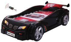 Black Racing Car Bed