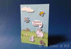 happy easter card, lawn fawn bee and butterfly Bugs and kisses clear stamps set and die cuts, hello baby lawn fawn clear stamps and die cuts bazzill cardstocks, copic markers