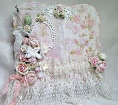 Shabby Chic Tag Holder panel #4