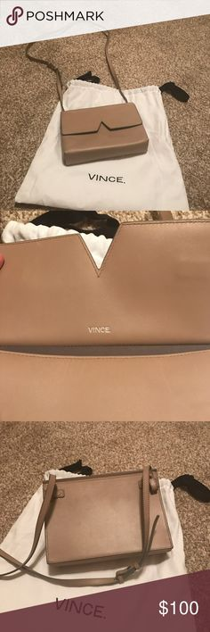 Vince cross body Vince cross body carried a couple of times. In excellent condition. Vince Bags Crossbody Bags
