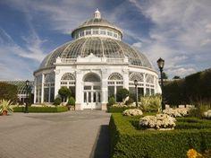 Enid Haupt Conservatory at New York Botanical Gardens, Bronx, N.Y.