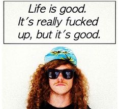 Blake says it best! Workaholics