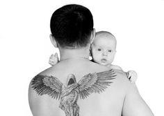 Anioł Stróż tatuaż