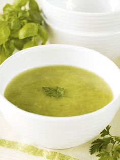 Bean Soup with Greens.  Low calorie and extremely healthy.