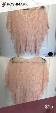 Pink Lace Top Moon Collection Pink Lace Top Moon Collection Tops Blouses