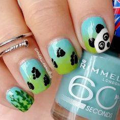 "Beauty Blog — Pame on Instagram: ""Patitas de panda #pawsnails..."
