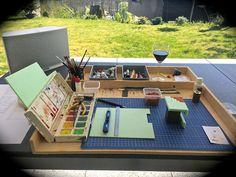 Vom Leben gezeichnet – von Marcel Ackle gebaut: Mein Arbeitsplatz
