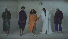 "Splurge: Solange Knowles's ""Cranes In The Sky"" Music Video $1,150 Acne Studios Baltimore Down Orange Coat"