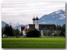 Benediktbeuern, Pfarrkirche St. Benedikt (ehem. Benediktiner Kloster) (Bad Tölz-Wolfratshausen) BY DE