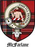 McFarlane Clan Badge / Crest / Tartan