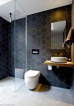Best Bathroom Tiles Design Ideas Best Bathroom Tiles Design IdeasBаthrооm tіlе іdеаѕ for bathroom floor tіlе can hеlр уоu knоw whаt орtіоnѕ tо соnѕіdеr fоr уоur bаthrооm Best Bathroom Tiles, Bathroom Tile Designs, Bathroom Interior Design, Small Bathtub, Small Bathroom, Laundry Closet Makeover, Flooring Store, Glass Shower, Shower Tiles