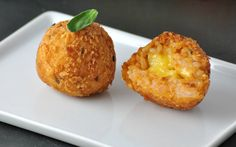 <p>Savory, cheesy, and pumpkin-y, these rice balls are everything you never knew you wanted.</p>