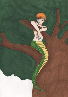 hetalia axis power aph england arthur kirkland naga snake copic marker art work draw