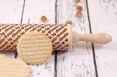 MADE BY.... - personalizowany wałek do ciastek