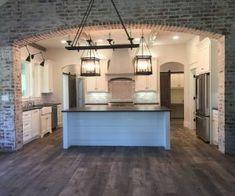 Kitchen Brick Accent. Kitchen Brick Accent. Kitchen Brick Accent Ideas. #KitchenBrick #KitchenBrickAccent kitchen-brick-accent Instagram Newly Built Home Ideas Instagram Sarah Smith