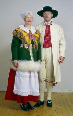 Finland, Houtskär, Åboland  Folkdräkter - Dräktbyrå - Brage