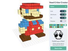 voxel builder, para crear nuestras figuras en 3D