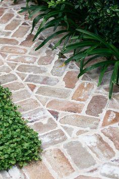 Dover Heights Backyard Garden Design, Backyard Patio, Back Gardens, Outdoor Gardens, Garden Paving, Outdoor Landscaping, Outdoor Paving, Dream Garden, Garden Inspiration