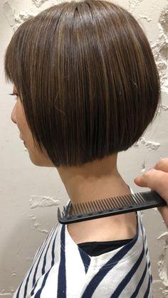 Black Bob, Long Bob, Bob Hairstyles, Hair Styles, Fashion, Hair Plait Styles, Moda, Fashion Styles, Long Stacked Haircuts
