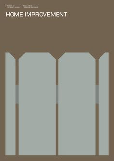Home Improvement minimalist poster