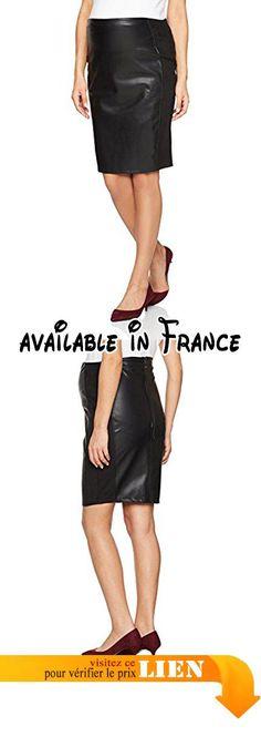 B06X1GK38L : Supermom Skirt PU High Waist S0515 Jupe Enceinte Femme Schwarz (Black C270) 42 (Taille du Fabricant: L). Jupe de grossesse de Supermom. Taille haute. Côtés élastiques. Similicuir. Convient parfaitement du 1er mois au 9e mois