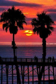 Very beautiful sunset
