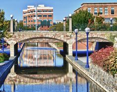 """Carroll Creek at South Street Bridge"" Photographer: Ted Robinson, http://www.monocacyriverphotography.com"