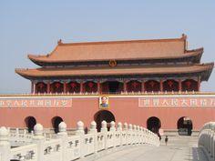 A local movie studio. Replica of the forbidden city
