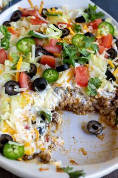 This Low Carb Taco Casserole Recipe is the perfect dinner idea for anyone trying to eat low carb or Keto. A satisfying meal that is quick, easy and nutritious. Make rice to serve on the side and this will be a family favorite weeknight dinner! Vegan Keto Recipes, Keto Desserts, Beef Recipes, Low Carb Recipes, Cooking Recipes, Healthy Recipes, Ketogenic Recipes, Easy Low Carb Meals, Quick Recipes