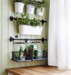 Amazon.com - Ikea Wire Baskets w/ Bottom Tray Hang or Free Stand Multi Use Dish Drainer / Cutlery Caddy / Shelf / Napkin Holder / Kitchen Storage Organizer Rack Fintorp -