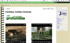 CULTURA CLÁSICA - Córdoba, huellas romanas. Trabajo de investigación y montaje de vídeos sobre monumentos romanos de Córdoba