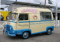 Icecream van (Renault Estafette)