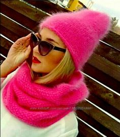 Winter Hats For Women, Knit Beanie Hat, Warm Outfits, Knitting Accessories, Knit Fashion, Hand Warmers, Baby Knitting, Knitted Hats, Knitwear