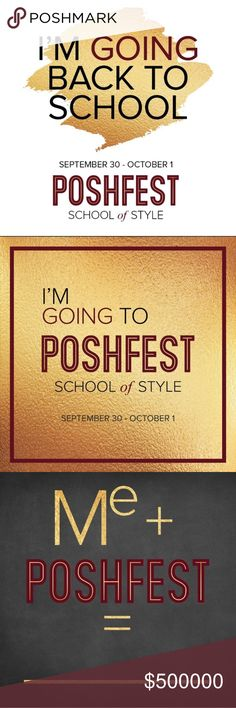 ✨Poshfest!!!✨ I'm so excited to be attending Poshfest this weekend! If you're going to be there, I hope to get to chat with you! Let me know!🙌🏼💋✨ For anyone not going, (and therefore shopping like the shopaholics we are!), I'm going to leave my closet open and I'll be shipping everything out Tuesday morning!💙 Poshfest Shoes Heels