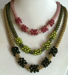 kumihimo with beads how to - Google Search