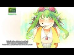 Indeed, I was [GUMI ENGLISH] Happy to be [ORIGINAL] to make this song...