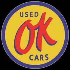Klik om meer te weten te komen over OK Used Cars Sign