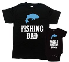 Matching Father Son Shirts Daddy And Me Outfits Dad And Son Gifts Family T Shirts Fishing Gifts For Dad Fathers Day Present - Father And Baby, Daddy And Son, Dad Son, Baby Daddy, Father Son Matching Outfits, Mommy And Me Outfits, Family Outfits, Baby Outfits, Dad And Son Shirts