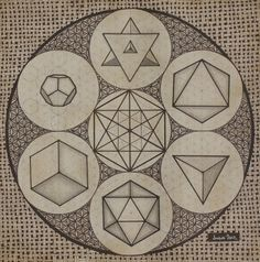 platonic solids together - Google Search