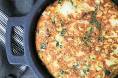 Tortilla de Bacalhau com Grão-de-bico ♥ GlutenFree com paixão