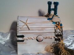 Beach Themed Wedding Card Box Made To Order 3000 Via Etsy