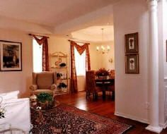 Our interior wood columns can be used purely for decorative purposes or for their structural load bearing capabilities. They are true to the classical orders of architecture that architects and builders are looking for to meet their design needs. Wood Columns, Interior Columns, Architecture, Room Ideas, Dining Room, Corner, Exterior, Homes, Furniture