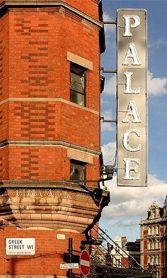 Palace, Greek Street in London // by S. Lo on Flickr