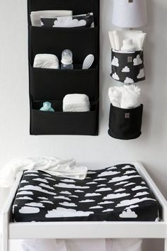 If I ever had a baby, the nursery would be in black and white. - Baby Bedroom, Baby Boy Rooms, Baby Boy Nurseries, Baby Room Decor, Nursery Room, Kids Bedroom, Room Baby, Black White Nursery, Black And White Baby