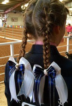 Ecuestre pelo arcos pelo accesorio/caballo por BowdanglesShowBows