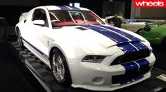 20 sexiest cars from the LA Motor Show - Ford Mustang Cobra
