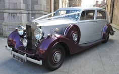 Wedding Cars | Wedding Car Hire | Wedding Cars Ireland | CASSIDY CHAUFFEURS Wedding Car Hire, Rolls Royce, Antique Cars, Ireland, Vehicles, Vintage Cars, Irish, Vehicle