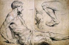 Studies for Figures for The Miracles of St.Francis Xavier by Sir Peter Paul Rubens (late - early Human Figure Drawing, Fine Art Drawing, Figure Drawing Reference, Fondation Louis Vuitton, Peter Paul Rubens, Space Drawings, Art Drawings, Rembrandt, Matisse