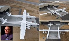 Stratolaunch aircraft with wingspan length of FOOTBALL FIELD unveiled Futuristic Cars, Futuristic Vehicles, Science News Articles, California Tourist Attractions, Mojave Desert, Football Field, Us National Parks, Space Travel, Military Aircraft